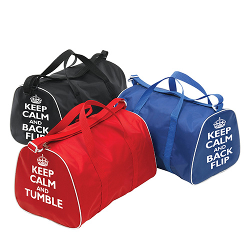 Tappers and Pointers Keep Calm Tumble & Back Flip Group of Bags