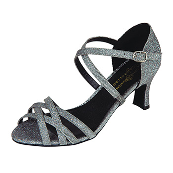 Alice-Ballroom-Shoe-Black Tappers and Pointers
