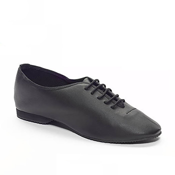 BLACK JAZZ SHOE Tappers and Pointers