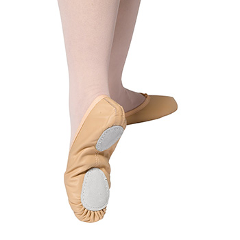 Ballet 7a Split Soled Ballet Shoes by Tappers and Pointers