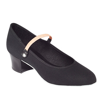 Canvas Character Cuban Heel Shoe Tappers and Pointers