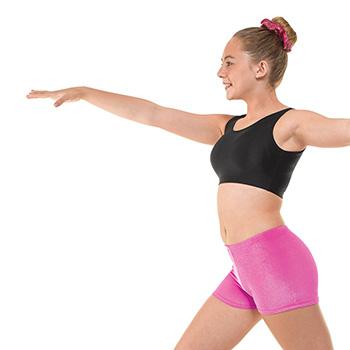 Hipster-Micro-Shorts-In-Flo-Pink-Velvet