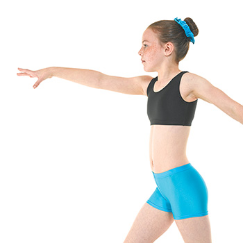 Hipster-Micro-Shorts-in-Kingfisher-Nylon-Lycra