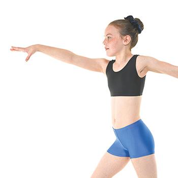 Hipster-Micro-Shorts-in-Royal-Nylon-Lycra