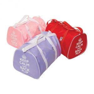 Holdall-Bags-With-Keep-Calm-and-Backflip-Motif
