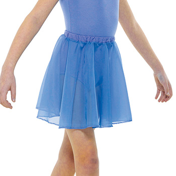 ISTD-Chiffon-Circular-Skirt Tappers and Pointers