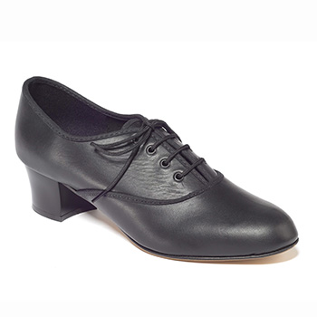 Ladies Leather Oxford Tap Shoe Tappers and Pointers