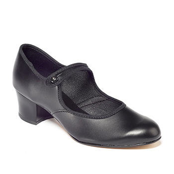 PU Character Shoe Cuban Heel Tappers and Pointers