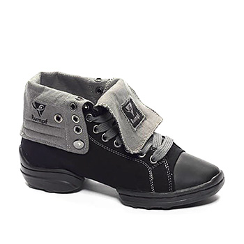Rumpf 2 Star Sneaker Black & Grey Tappers and Pointers