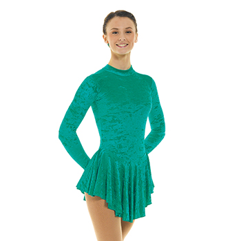 Skating Dress With Turtle Neck Jade by Tappers and Pointers
