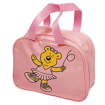 Square-Bag-With-Bear-Motif-Bags-Small-Bags Tappers and Pointers