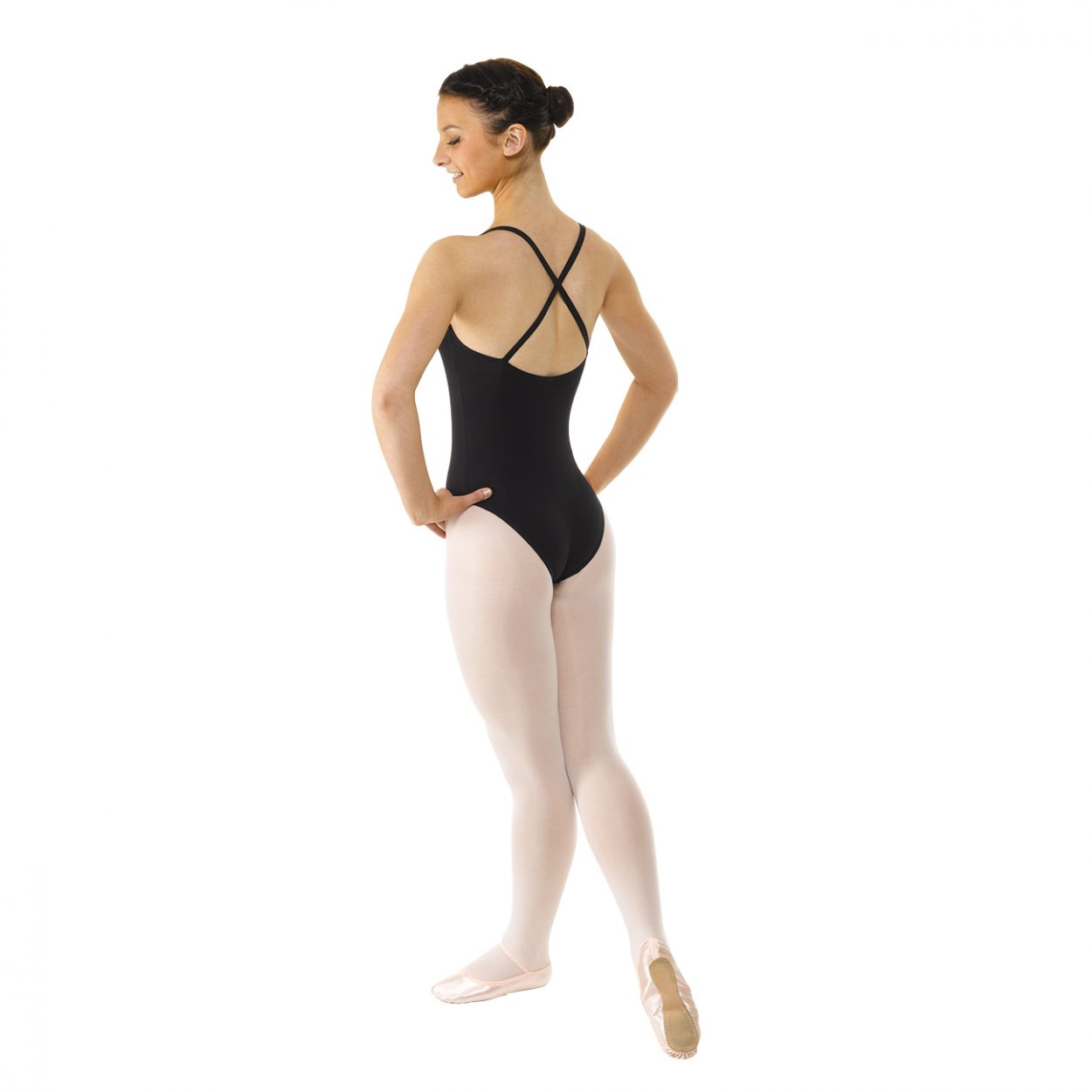 Camisole-Leotard-Ruched-Front Tappers and Pointers