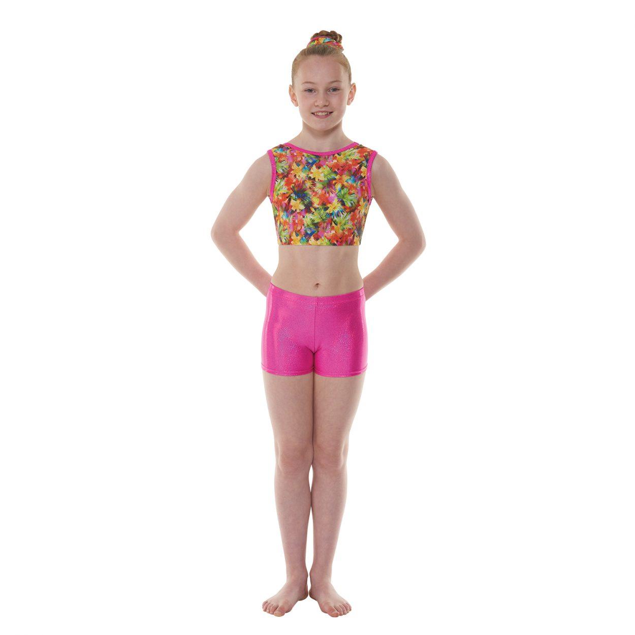 Pink-Hologram-Shine-shorts