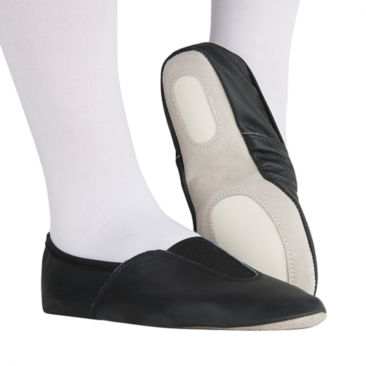 Rumpf-Gymnastics-Shoe-Black Tappers and Pointers